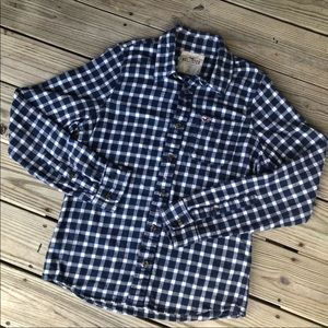 Men's large Hollister flannel button down